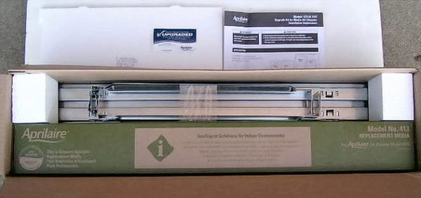 aprilaire 401 filter replacement opened box