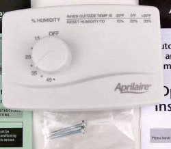 Aprilaire 4655 Manual Humidifier Humidistat