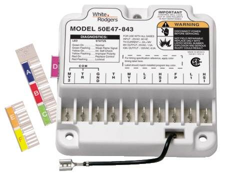 white-rodgers universal furnace control module 50e47-843 white rodgers thermostat wiring diagrams