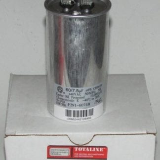 60/7.5 MFD 440 Volt Bryant Carrier Dual Round Run Capacitor