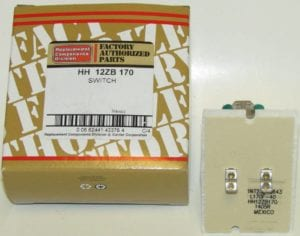 HH12ZB170 Bryant Carrier Furnace Limit Switch