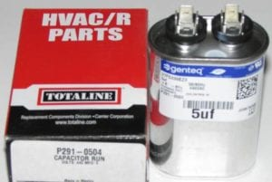 5 MFD Bryant Carrier Totaline Oval Air Conditioner Capacitor