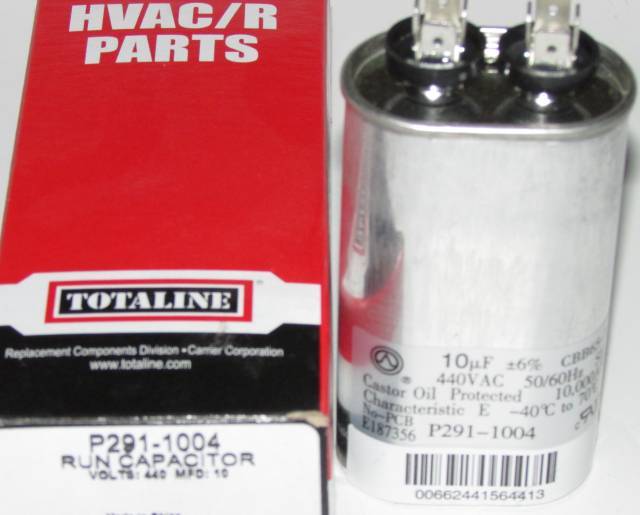 10 Mfd Bryant Carrier Totaline Oval Air Conditioner Capacitor