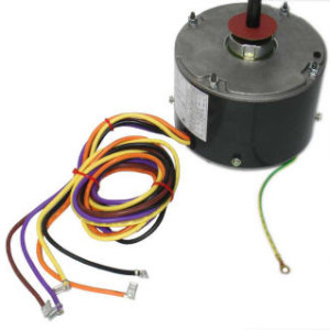 Rheem ruud air conditioner condenser fan motor 51 23055 11 for Air conditioner compressor motor