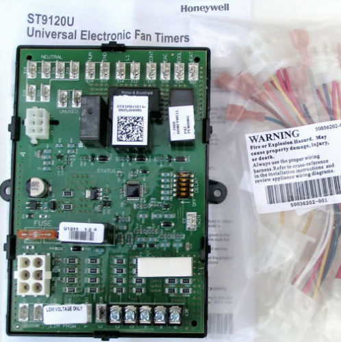 Electronic Furnace Fan Timer Board
