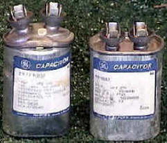Problem: What to look for when a capacitor is bad? My unit ... on