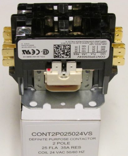 Cont2p025024vs Goodman Air Conditioner Contactor