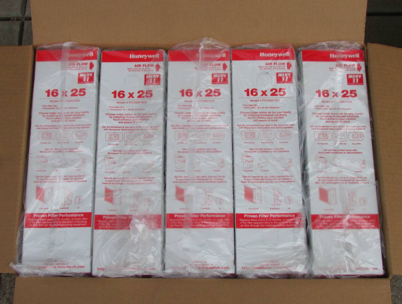 Filters & Supplies / Honeywell Filters / Honeywell FC100A1029 Filters  #A42733