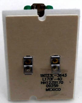 HH12ZB170 Bryant Carrier Furnace Limit Switch Top View