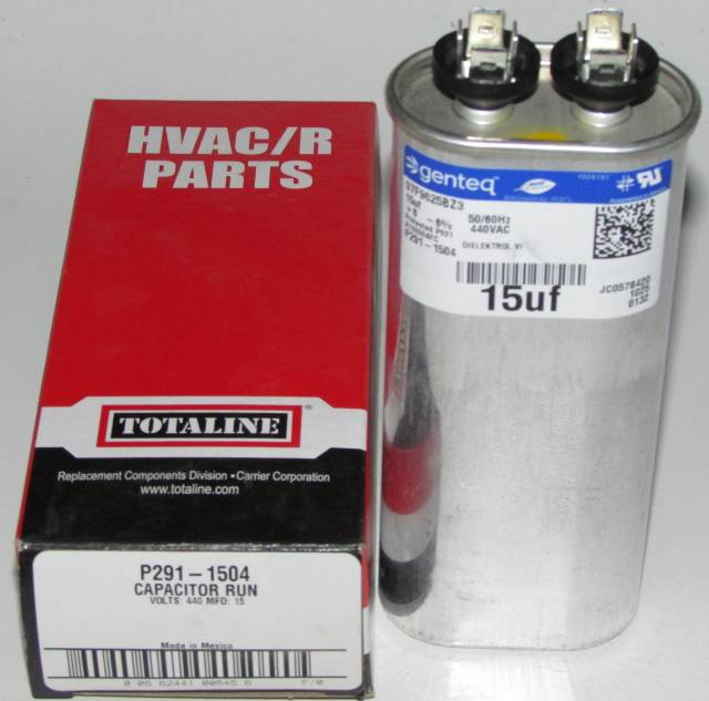 15 Mfd Bryant Carrier Totaline Oval Air Conditioner Capacitor