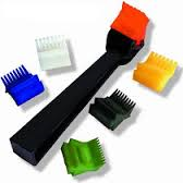 Air Conditioner Fin Tool with 6 Interchangeable Heads
