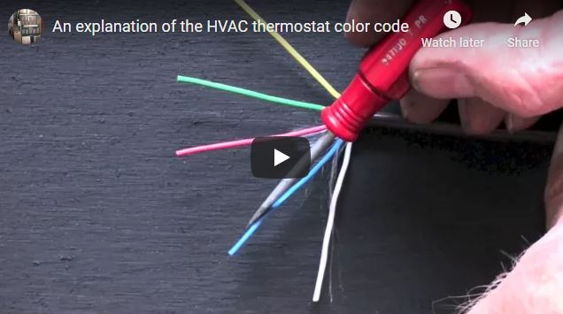 Problem: How do I wire up my new thermostat? What do the wire colors mean?  • Arnold's Service Company, Inc. | Hvac Wiring Colors |  | Arnold's Service