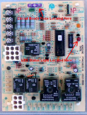 Nordyneboard903106instructions problem draft inducer will not start, ignitor will not glow or Automotive Wiring Harness at bakdesigns.co