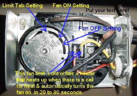 Fan Limit Control With Text on Furnace Fan Limit Switch Wiring Diagram