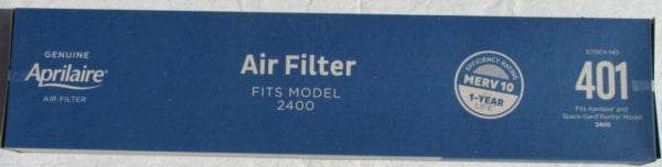 aprilaire 401 replacement filter