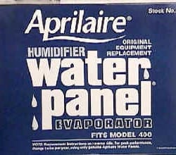 Aprilaire Humidifer Water Panels