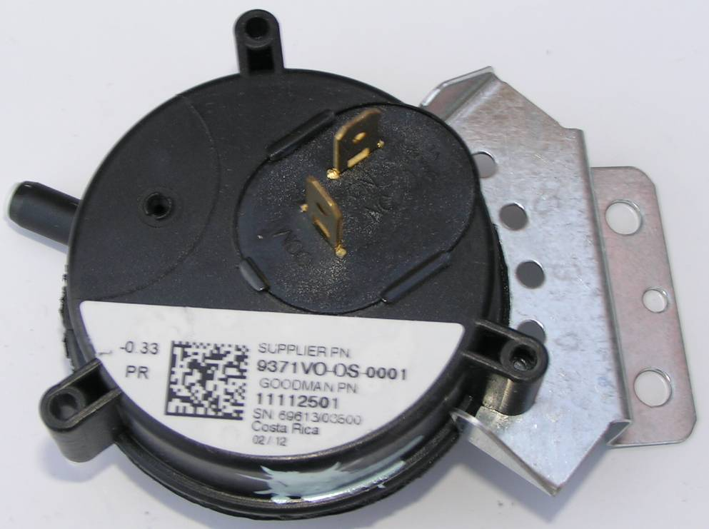 Janitrol furnace pressure switch