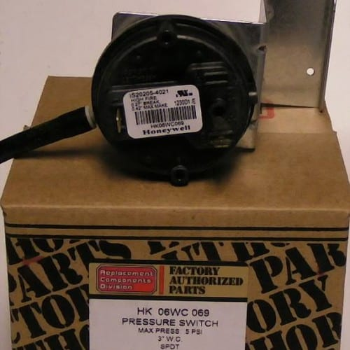 Bryant Carrier Pressure Switches