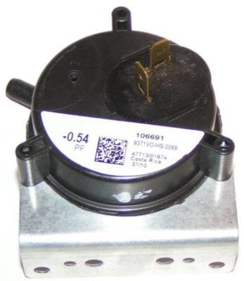02435272000 York Furnace Pressure Switch