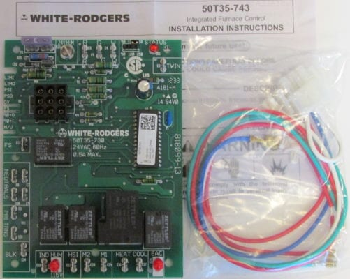 50T35-743 White-Rodgers Replacement Ignition Control Board