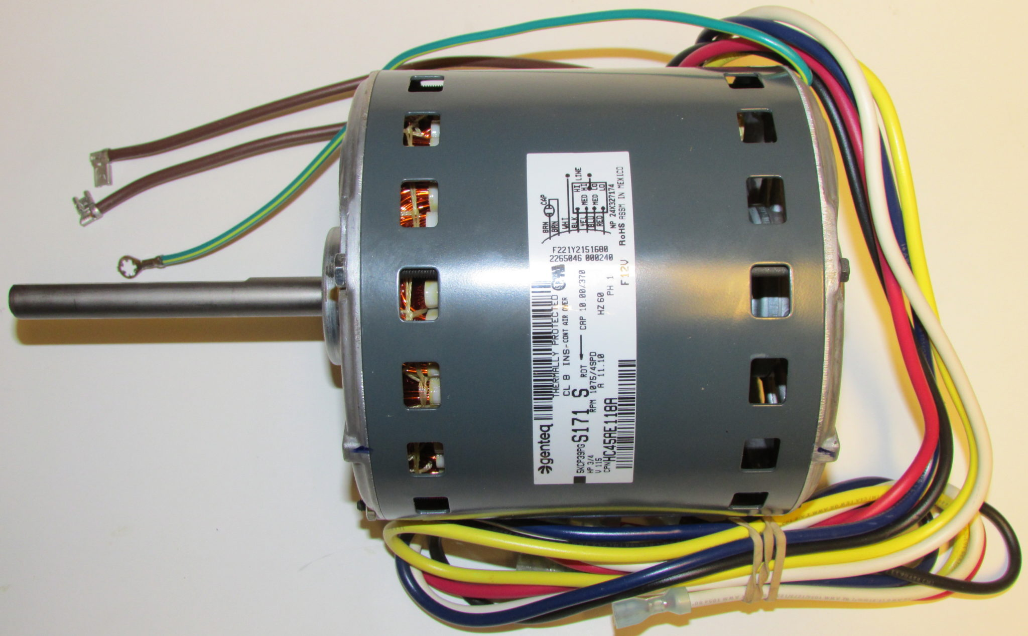 HC45AE118 motor all2 hc45ae118 bryant carrier furnace blower motor carrier weathermaker 8000 wiring diagram at bayanpartner.co