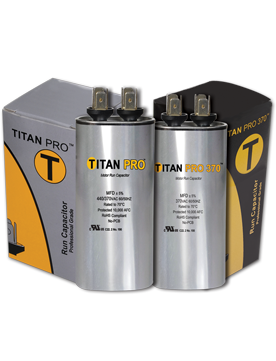 Titan Pro Extended Life Capacitors