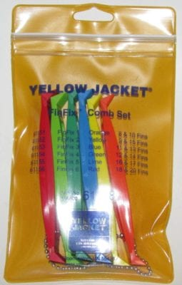 61158 Yellow Jacket Air Conditioner Fin Comb Tool Set
