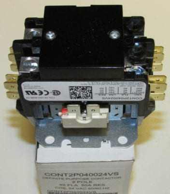 CONT2P040024VS Goodman Air Conditioner Contactor