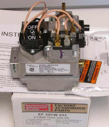 Bryant Carrier Furnace Gas Valve EF32CW233