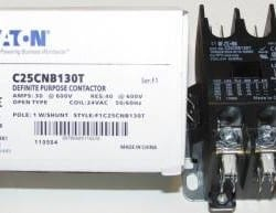 Eaton-single-pole-contactor-C25CNB130T