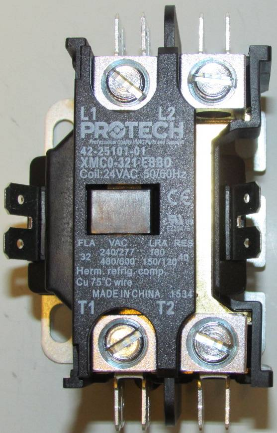 42 25101 01 contactor 1 42 25101 01 rheem ruud air conditioner heat pump contactor single pole  at bayanpartner.co