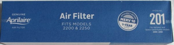 aprilaire 201 filter replacement