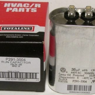 p291 3504 oval capacitor