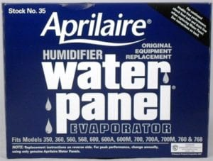 Stock 35 Aprilaire Humidifer Water Panel