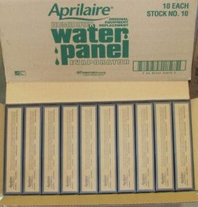 Stock 10 Aprilaire Humidifier Water Panel 10 Pack