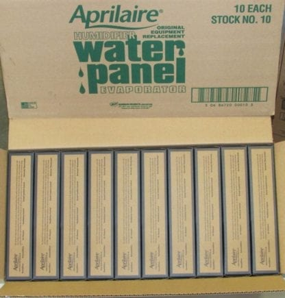 Aprilaire Humidifier Water Panels Stock 10- Case of (10)