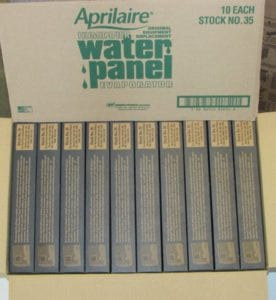 Stock 35 Aprilaire Humidifer Water Panel 10 Pack
