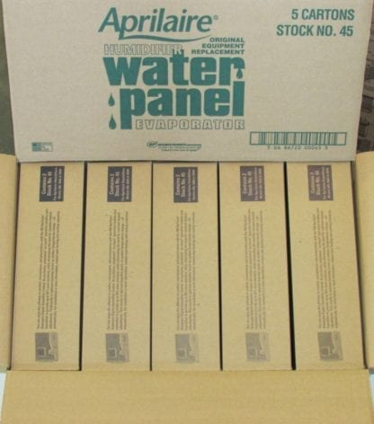 Aprilaire Humidifier Water Panels Stock 45 (5) 2-Packs