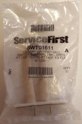 SWT01611 American Standard Trane Furnace Limit Switch Package