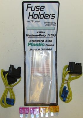 fuse holders ZFH01