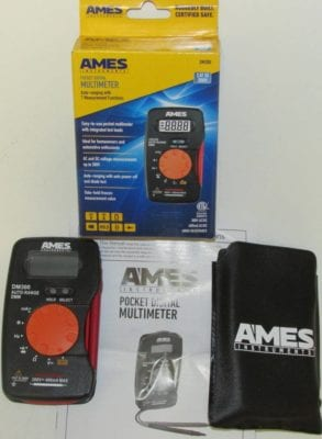 Ames multimeter all