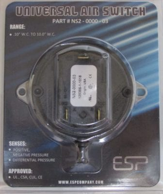 ns2 0000 03 universal pressure switch package