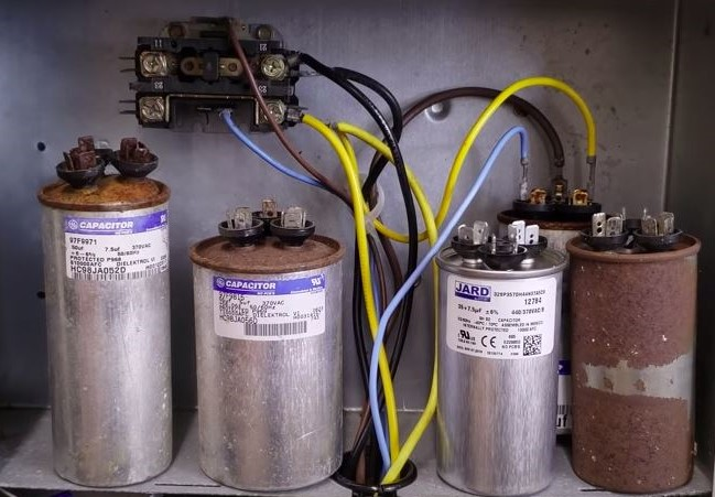 worn out capacitors